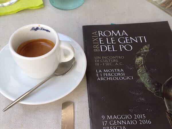caffè del MOMA di Brescia