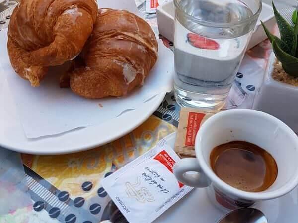 il caffè di Palomba Gastronomia a Roma