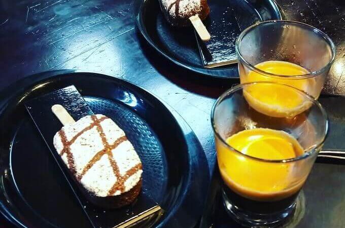 il caffè della Pasticceria De Bellis a Roma