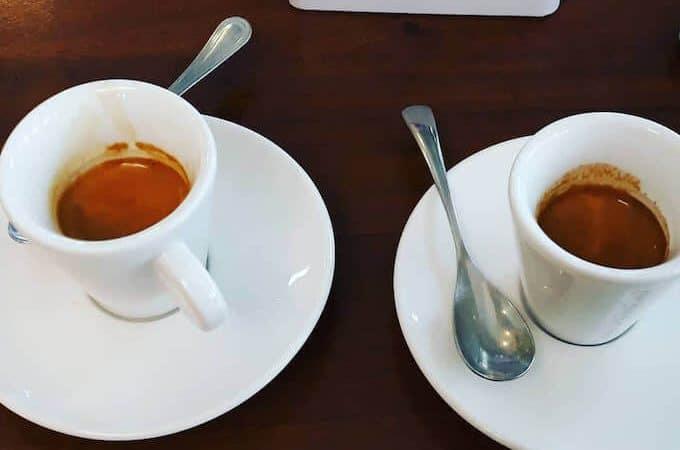 Il caffè della Pasticceria Nuova Brianza di Milano