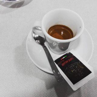 Il caffè del Ristorante Pizzeria Garden a Milano