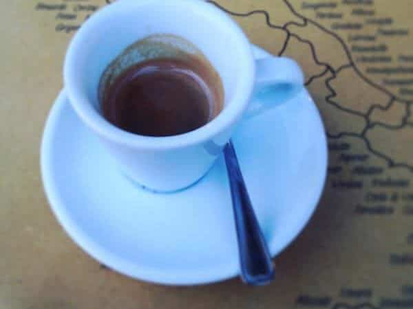 caffè bevuto al Ristorante Pizzeria Redentore di Verona