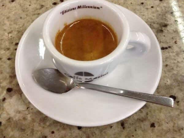 Il caffè bevuto allo Sporting Bar di Cisano Bergamasco