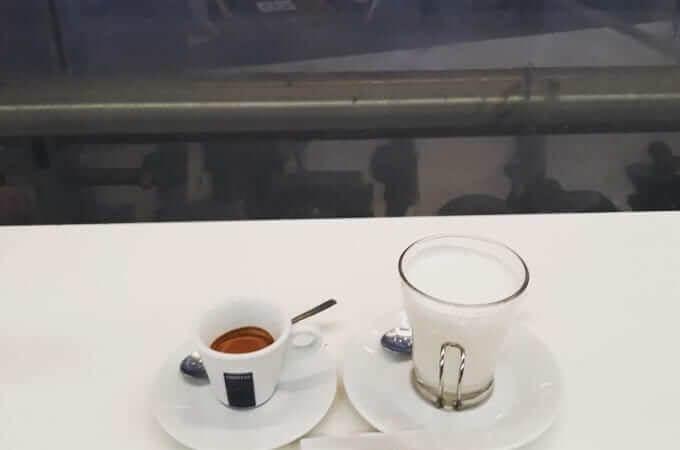 Il caffè del Buffet Milano Centrale di Chef Express