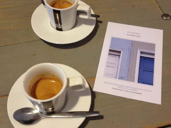 caffè bevuto da Strada Café a Parigi
