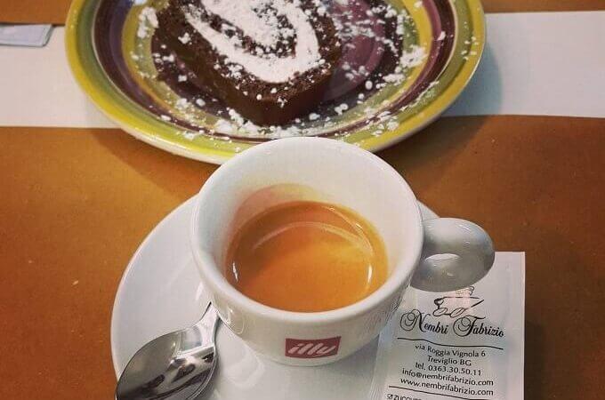 il caffè del ristorante Lo Stuzzichino di Mare a Milano - Lambrate