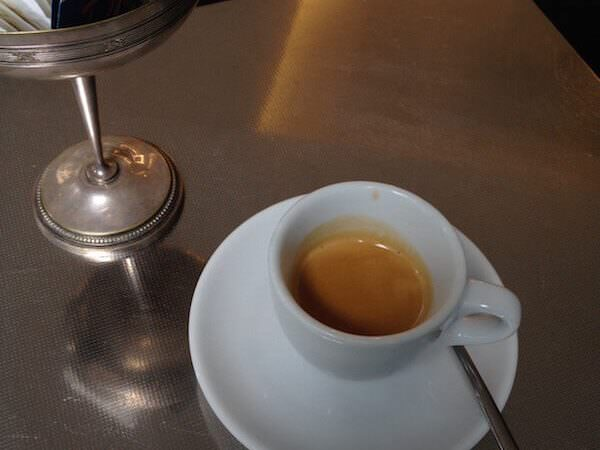 il caffè di T'A Milano Bistrot a Milano